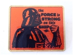 Disney Trading Pin 113688 DCL - Star Wars Day At Sea - Darth Vader - The Force is Strong