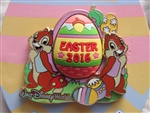 Disney Trading Pin 113780 WDW - Happy Easter 2016 - Chip and Dale