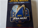 Disney Trading Pin   113889 DCL - Star Wars Day at Sea Logo Pin