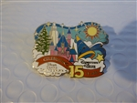 Disney Trading Pin 113955 Cast Exclusive- Celebrating 15 years Disney's Grand Californian and Downtown Disney