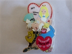 Disney Trading Pins  113962 WDI Alice in Wonderland Valentine's Day Pin