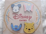 Disney Trading Pin 113972 Cross Stitch Booster Pack