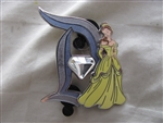 Disney Trading Pin 113994 DLR - 60th Pin of the Month - Diamond D - Belle