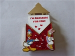 Disney Trading Pin 113995 Love Letters - Pin of the Month: Donald and Daisy