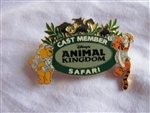 Disney Trading Pin 114: Cast Member - Animal Kingdom Safari (Pooh & Tigger)