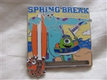 Disney Trading Pins  114008 WDW - 2016 Spring Break Featuring Mike and Sully