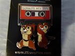 Disney Trading Pin 114062 Chip and Dale carrying Donald's Mix Tape
