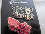 Disney Trading Pin 114309 I'll be your Prince-I'll be your Princess - 2 pin set