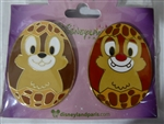 Disney Trading Pin 114849 DLP – Set Easter Eggs – Chip n Dale