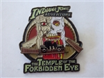 Disney Trading Pin 11494 DLR - Indiana Jones Adventure (The Temple of the Forbidden Eye) Hinged