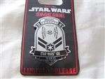 Disney Trading Pins 114999 WDW - runDisney 2016 Inaugural Star Wars Half Marathon - The Dark Side - 10K Event Pin