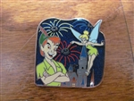 Disney Trading Pin 115039 DLR Diamond Celebration - Disneyland Forever Starter Set - Peter Pan and Tink ONLY