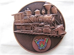 Disney Trading Pin 115540 WDW Bronze Train Medallion