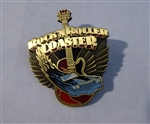Disney Trading Pins 115663 Gold Rock N Roller Coaster Logo