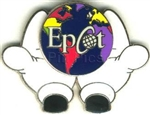 Disney Trading Pins EPCOT 2000 Mickey Hands Around the Globe