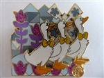 Disney Trading Pin  116054 DLR - it's a small world 50th Anniversary - Mystery Pin Collection Animals - Geese CHASER