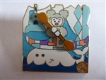 Disney Trading Pin  116078 DLR - it's a small world 50th Anniversary - Mystery Pin Collection Animals - Polar Bear CHASER