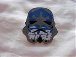 Disney Trading Pins 116176 Star Wars Stormtrooper Helmets Mystery Set - Blue Galactic Empire logo
