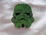 Disney Trading Pins 116178 Star Wars Stormtrooper Helmets Mystery Set - Green Circuit Board