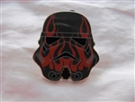 Disney Trading Pins 116179 Star Wars Stormtrooper Helmets Mystery Set - Red Flame