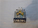 Disney Trading 116186 DLR - Disney Mascots Mystery Pin Pack - Small World Sailors