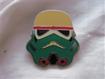 Disney Trading Pins 116258 Star Wars Stormtrooper Helmets Mystery Set - Green Yellow Red