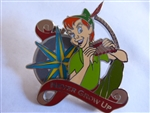 Disney Trading Pin 116279 Peter Pan with Compass - Never Grow Up
