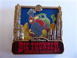 Disney Trading Pin  116711 July 2016 Park Pack - Big Thunder Mountain Railroad - Version 1