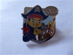 Disney Trading Pin 116751 DCL - 2016 Mystery PWP - Jake the Pirate