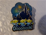 Disney Trading Pin 116779 Little Green Men Castle Fireworks Pin