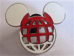 Disney Trading Pin 116989 Mickey Icon Japan Flag Lattice Pin