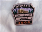 Disney Trading Pin 117 WDW - Wilderness Lodge 2000 (3D)