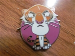 Disney Trading Pin 117063 HKDL World of Evil Mystery Collection ~ Shere Khan
