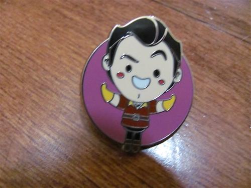 World of Evil Mystery Villains Gaston Disney Pin 117069