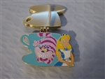 Disney Trading Pin 117299 WDW - Magical Montage 2016 - Alice and Cheshire Cat