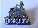 Disney Trading Pin   117853 DLR - Jeweled Sleeping Beauty Castle