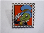 Disney Trading Pin 117992 Magical Mystery - 10 Postage Stamp - Jiminy Cricket