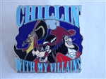 Disney Trading Pin 118082 Chillin' With My Villains - Jafar, Big Bad Wolf, Captain Hook