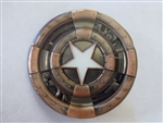 Disney Trading Pin 118149 DS - Captain America 75th Anniversary - Shield - Steam Punk