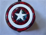 Disney Trading Pin   118150 DS - Captain America 75th Anniversary - Shield - Comic Book