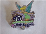 Disney Trading Pin 118429 WDW – 45th Anniversary Magic Kingdom - Tinker Bell