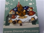 Disney Trading Pin 118466 Chip and Dale Roasting Acorns