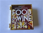 WDW - 2016 Epcot International Food & Wine Festival - Tasting Sampler Pin