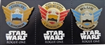 Disney Trading Pin 118505 Star Wars Rogue One Rebel Squadron Leaders