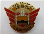 Disney Trading Pin 118507 Star Wars Rogue One Rebel Squadron Leaders - Red