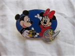 Disney Trading Pin 11858: Share the Magic Pin Series #1 (Mickey, Minnie & Tinker Bell)