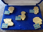 Disney Trading Pins 11878 WDCC - 5th Anniversary Commemorative (5 Pin Set)