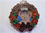 Disney Trading Pin  118861 Holiday Wreaths Resort Collection 2016 - Aulani - ShellieMay
