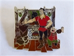 Disney Trading Pin 119171 WDW/DLR - Beauty & the Beast 25 Enchanted Years: Gaston and Le Fou