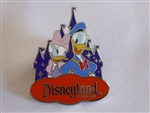 Disney Trading Pin 119203 DLR - Donald & Daisy Duck with Castle - Costco Travel